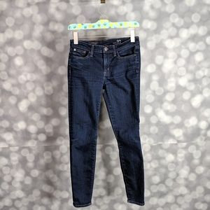 J. Crew Classic Rinse Toothpick Jeans